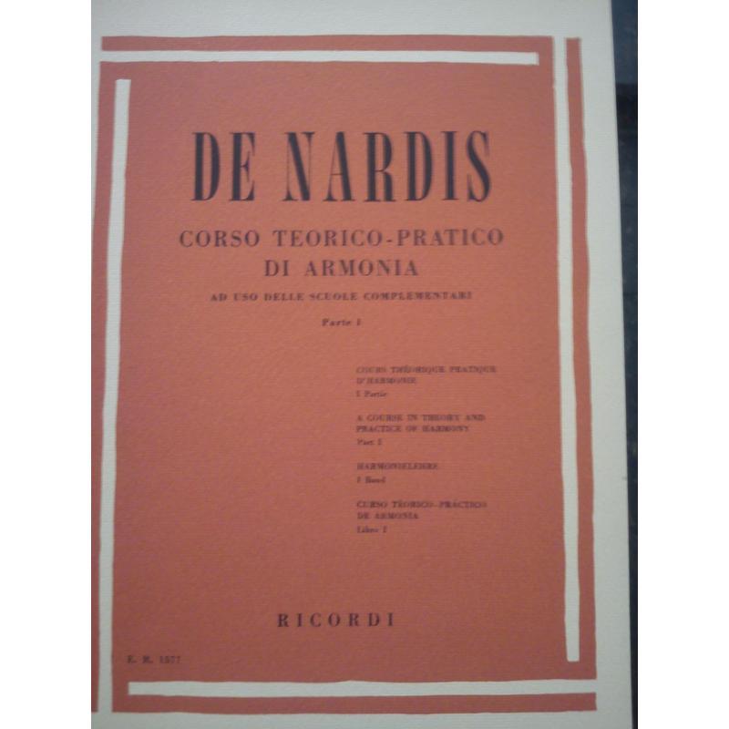 Camillo De Nardis - Corso Teorico-Pratico di Armonia (Parte 1).
