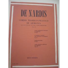 De Nardis - Corso teorico pratico di armonia parte 2