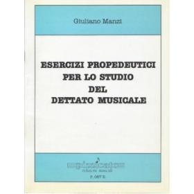 Manzi - Esercizi propedeutici per lo studio del dettato musicale