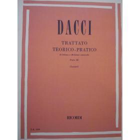 Giusto Dacci - Trattato Teorico-Pratico di Lettura e Divisione Musicale (Parte 3).