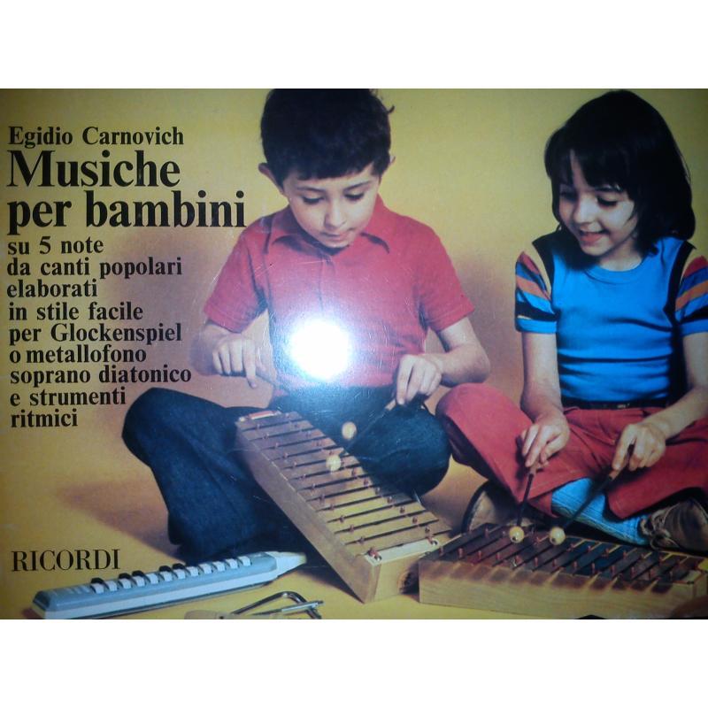 Carnovich - Musiche per bambini