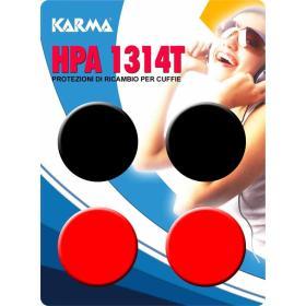 HPA 1314T - Spugne di ricambio per cuffia