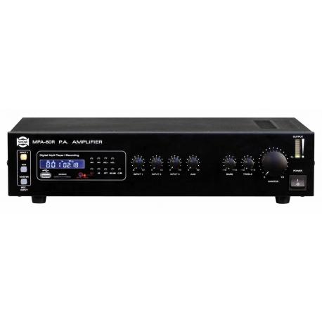 MPA 60R - Amplificatore PA Mp3-rec