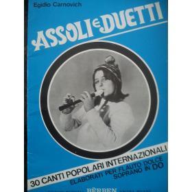 Carnovich - Assoli e duetti
