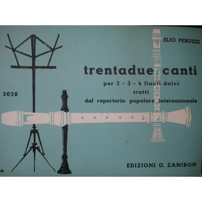 Peruzzi - 32 canti