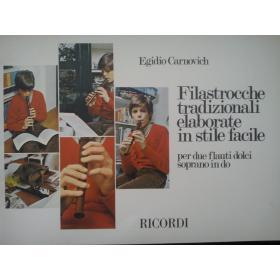 Carnovich - filastrocche tradizionali elaborate in stile facile