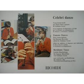 Gorni - Celebri danze