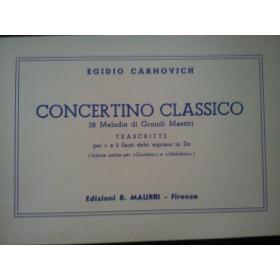 Carnovich - concertino classico