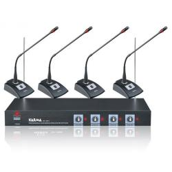 SET 8041 - Kit per conferenze wireless 4 mic