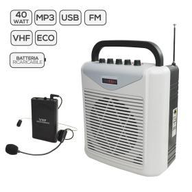 BM 861MP3 - Diffusore amplificato con radiomicrofono