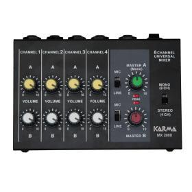 MX 2008 - Mixer microfonico 8 canali