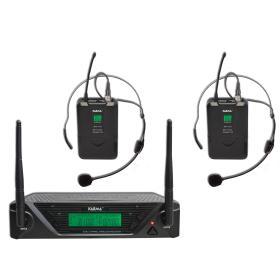 SET 7432LAV - Doppio radiomicrofono UHF