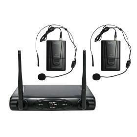 SET 6082LAV-A - Doppio radiomicrofono VHF