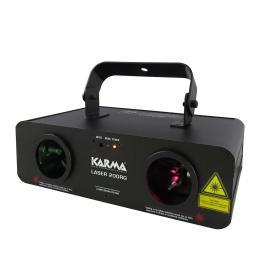 LASER 200RG - Laser rosso e verde da 200mW