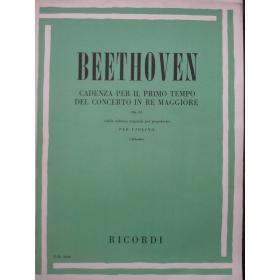 Ludwig Van Beethoven - Cadenza per il Primo Tempo del Concerto in Re Maggiore (Op. 61)