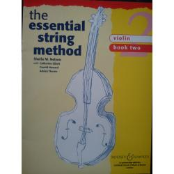 AAVV - The Essential String Method (Violin). Book 2.