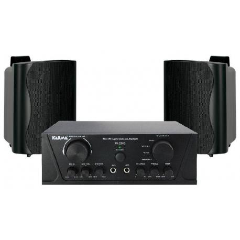 PACK AUDIO 5A - Kit amplificazione