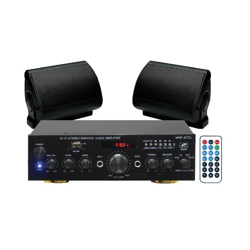 PACK AUDIO 5B - Kit amplificazione