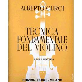 Curci - Tecnica fondamentale del violino parte seconda