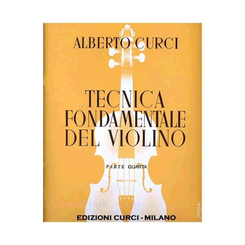 Curci - Tecnica fondamentale del violino parte quarta