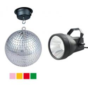 DJ 308LED - Kit sfera a specchi