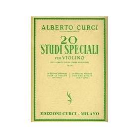 Alberto Curci - 20 Studi Speciali per Violino