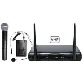 SET 6082PL-B - Doppio radiomicrofono VHF