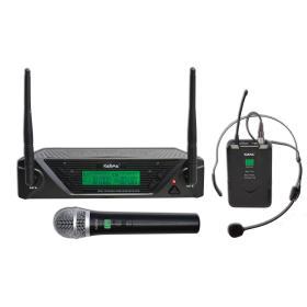 SET 7432PL - Doppio radiomicrofono UHF