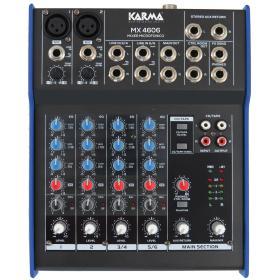 MX 4606 - Mixer microfonico
