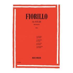 Federico Fiorillo - 36 Studi per Violino