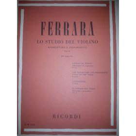 Ferrara - lo studio del violino vol 2