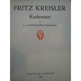 Fritz Kreisler - Kadenzen (Op. 61)