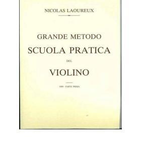 Laoureux grande metodo scuola pratica del violino parte prima