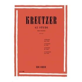 Kreutzer - 42 studi revisione Borciani