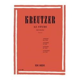 Kreutzer 42 studi revisione Principe