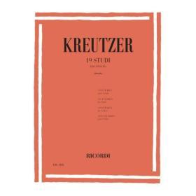 Rodolphe Kreutzer - 19 Studi per Violino.
