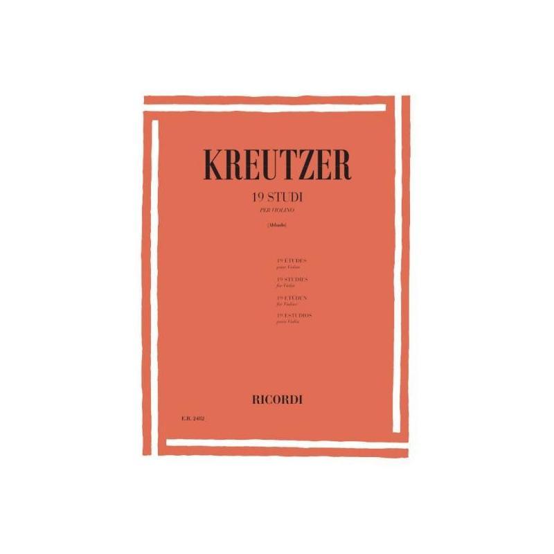 Kreutzer 19 studi