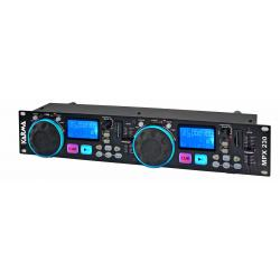 MPX 230 - Riproduttore Mp3 con prese SD-USB