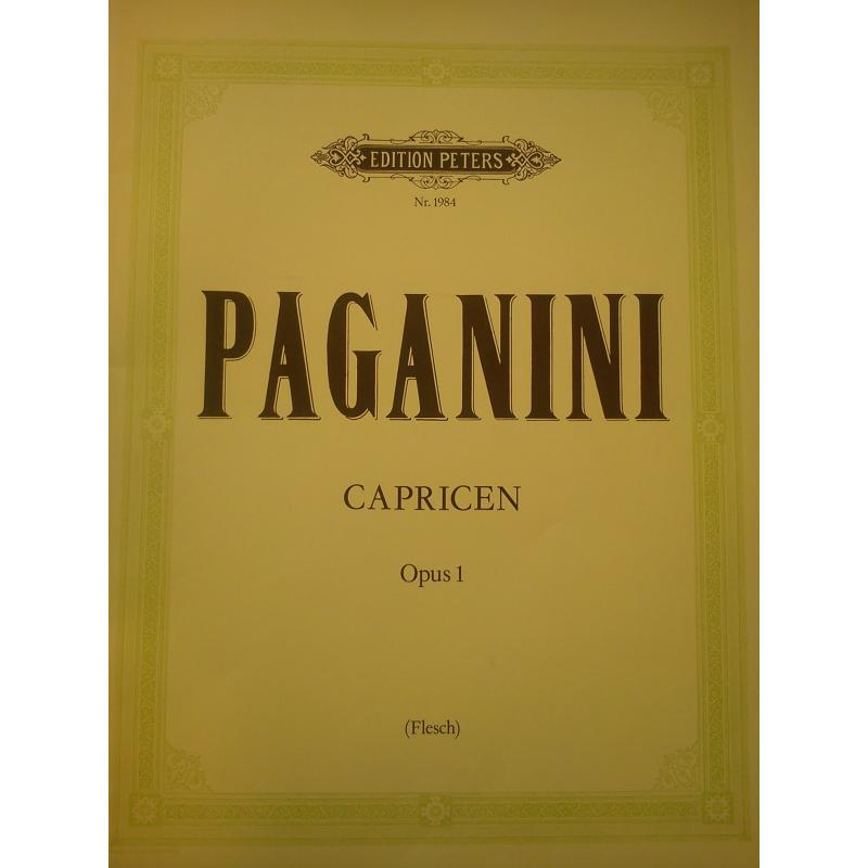 Paganini - Capricen