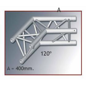 A 30504 - Angolo TRIO 220 2 vie orizz. 120°