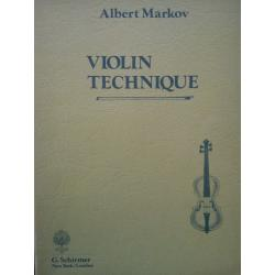 Markov violin technique