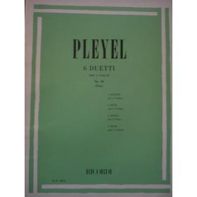 Ignace Joseph Pleyel - 6 Duetti per 2 Violini (Op. 48).