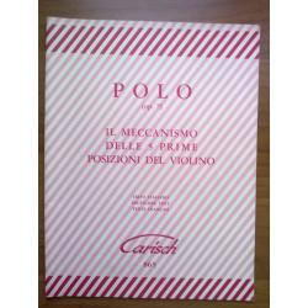 Polo - il meccanismo delle 5 prime posizione del violino