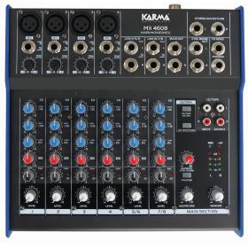 MX 4608 - Mixer microfonico