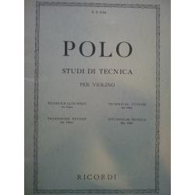 Enrico Polo - Studi di Tecnica per Violino