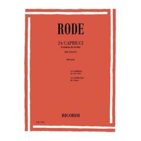 Rode - 24 capricci(revisione Borciani)