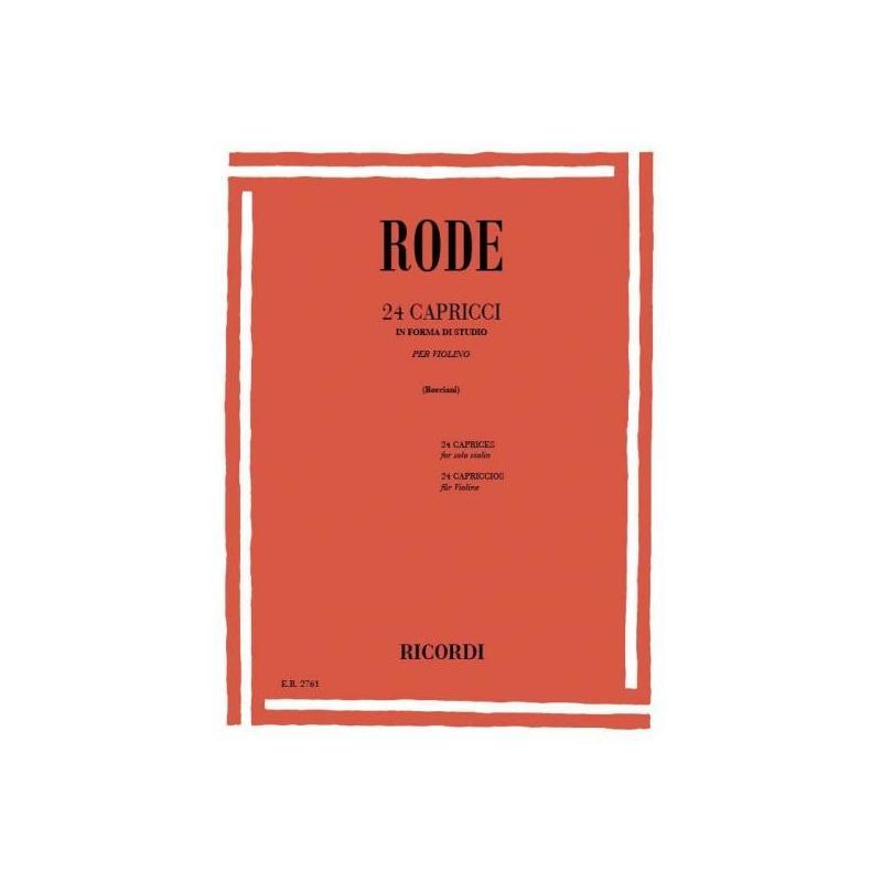 Rode - 24 capricci