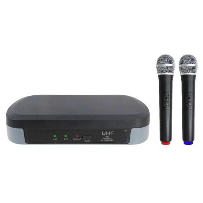 SET 7302 - Doppio Radiomicrofono UHF