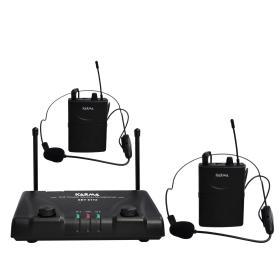SET 6172LAV-A - Doppio radiomicrofono ad archetto
