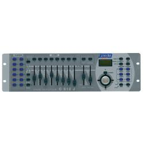 C 512J - Centralina luci DMX
